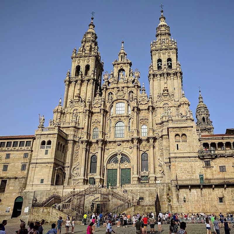 Catedral de Santiago de Compostela agosto christian pilgrimage