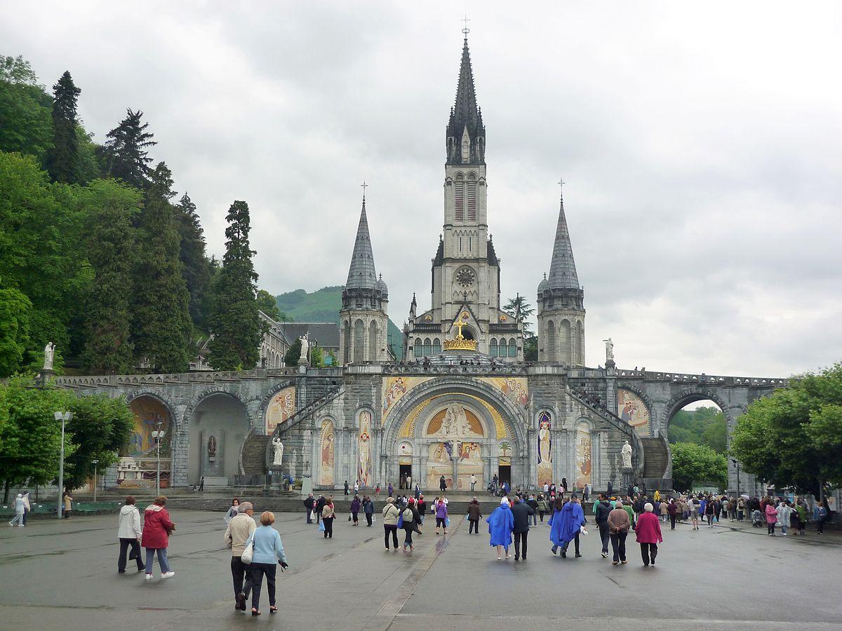 Lourdes France christian pilgrimage