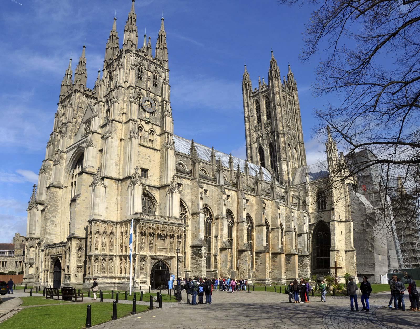 cathedral Canterbury Kent England christian pilgrimage
