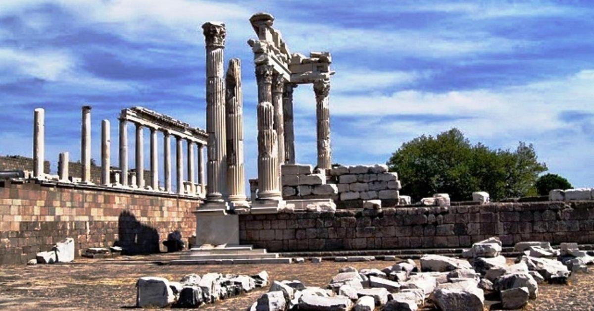 Pergamon 7 churches of revelation