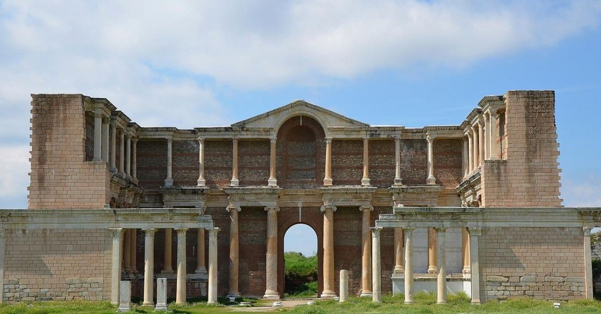 Sardis 7 churches of revelation